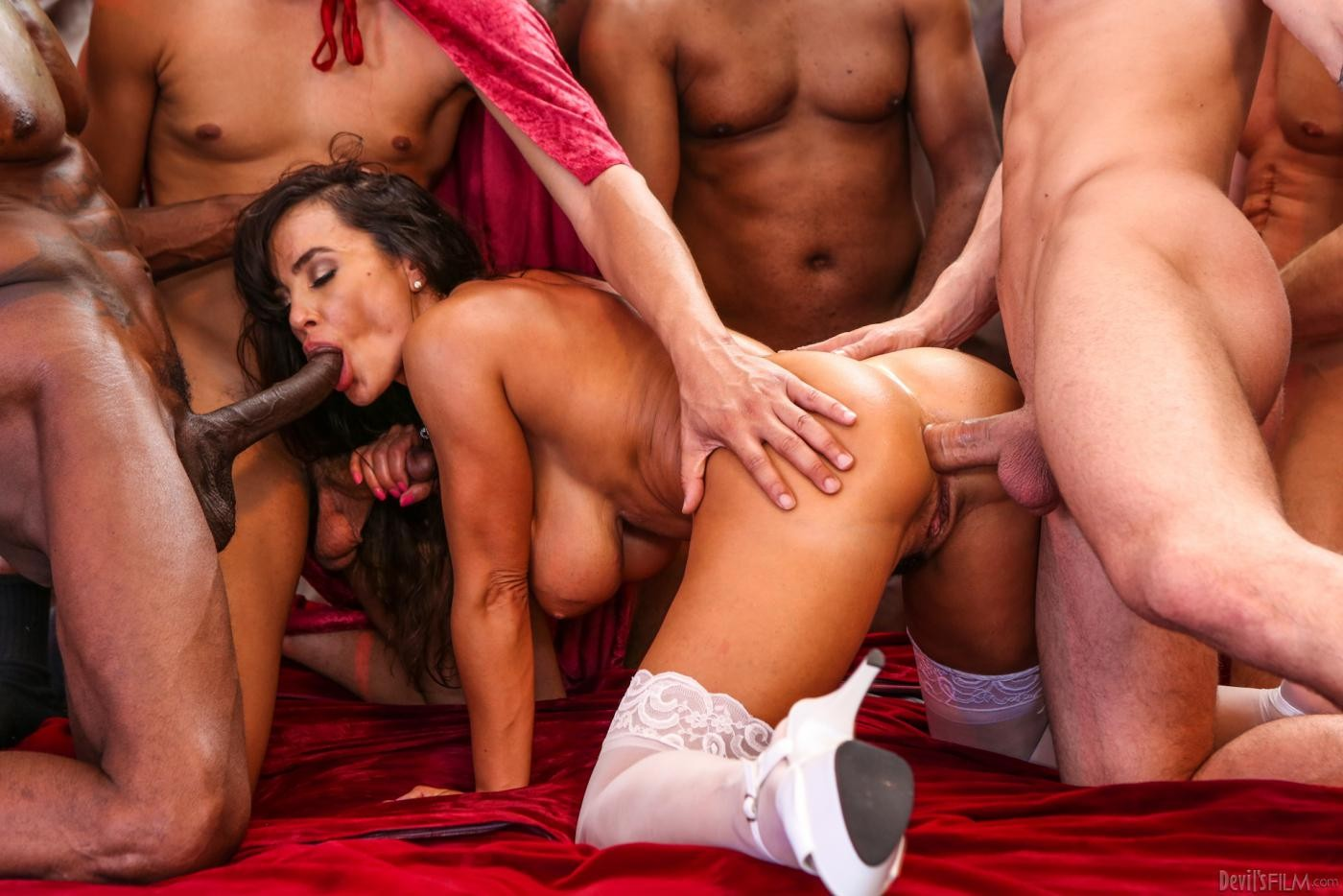The world biggest anal gang bang, young granaughter showing grandpa about sex