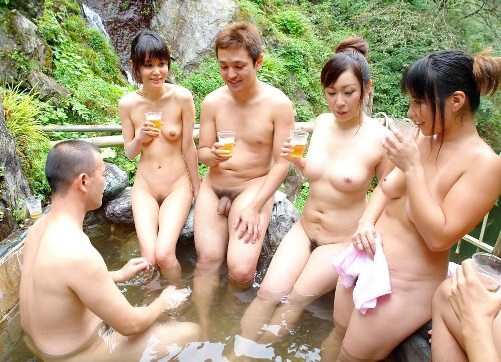 Корея Япония Нудисты Натуристы Фото