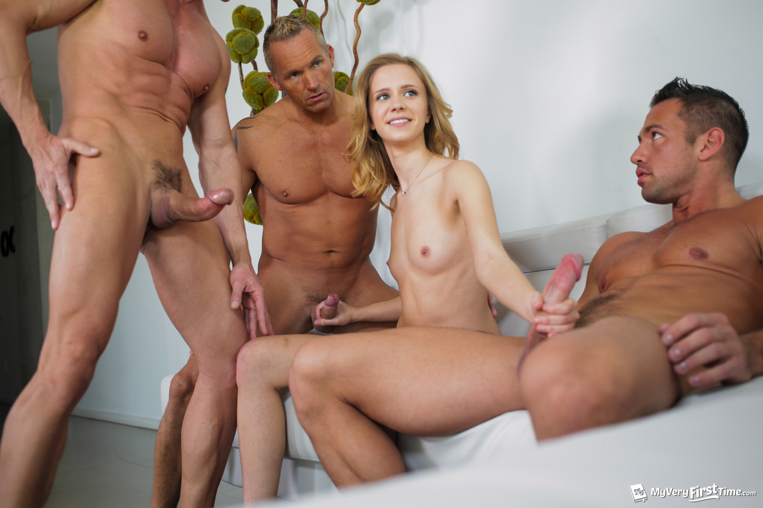 Milf and two guys porn