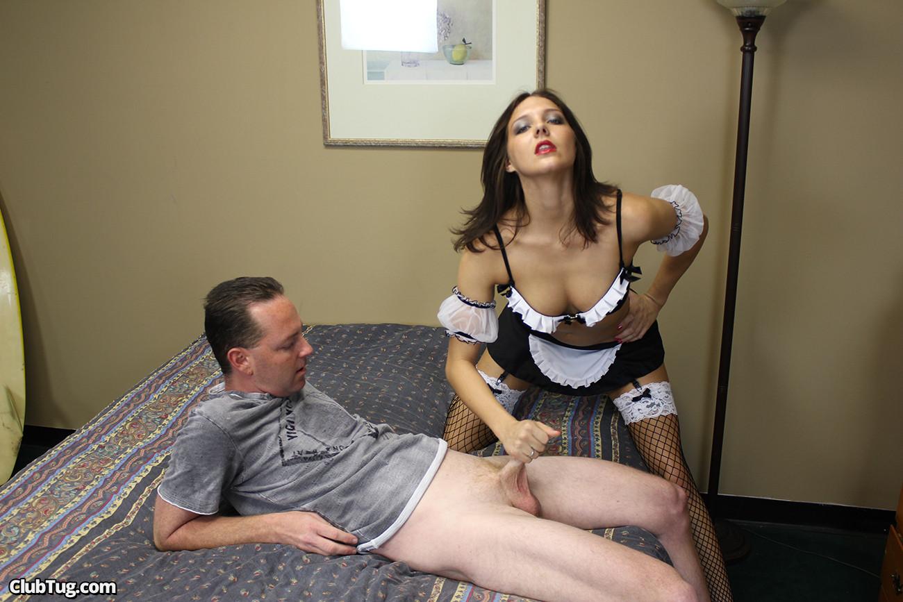 Секс с прислугами в отеле очень