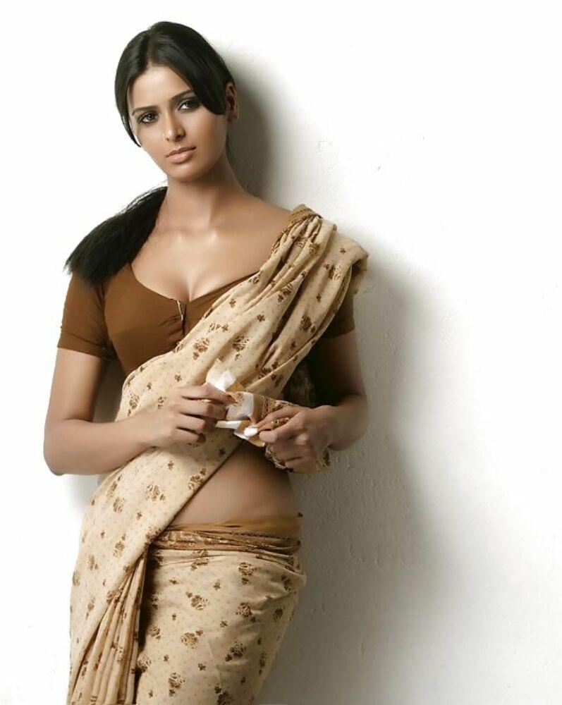 Роскошные индийские девушки показывают на камеру свои большие буфера