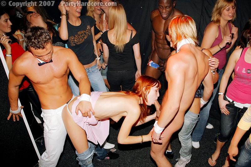 пьяные оргии в клубе все в белом - 4