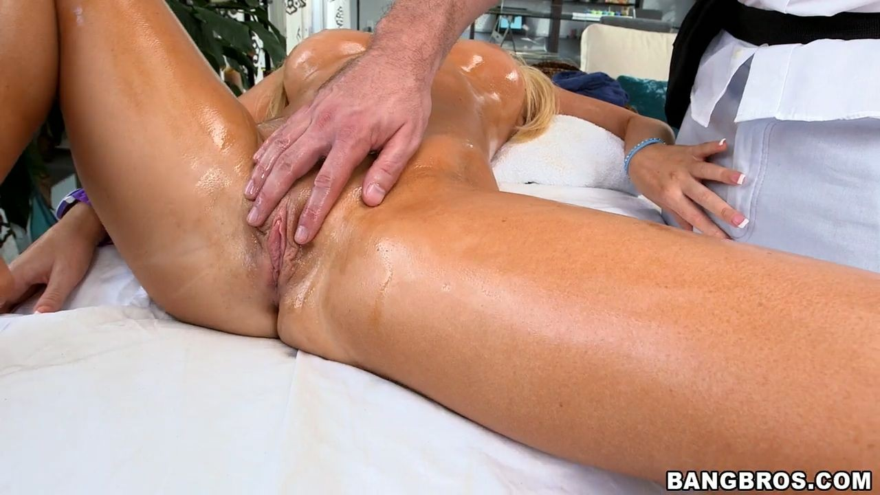Кончила после эротический массаж