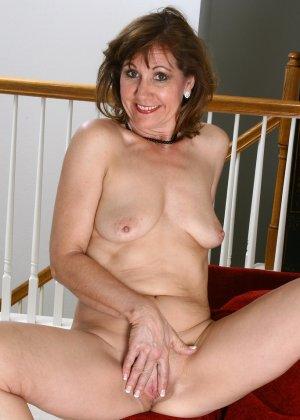 Женщина в 51 год еще имеет некую сексуальность и безумно хочет ебли