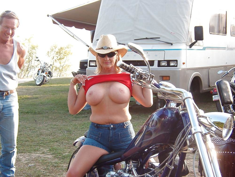 Sturgis rally boobs moore