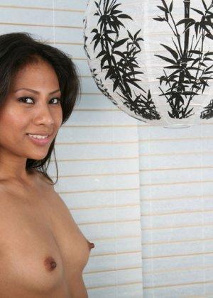 Секс гика и красивой зрелой азиатки