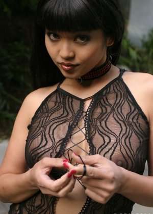 Секс азиатки с большой, красивой грудью