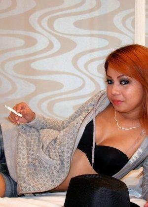 Секс с рыжей китаянкой Синди