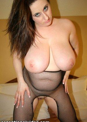 Секс с грудастой зрелой пышкой Kitty Lee