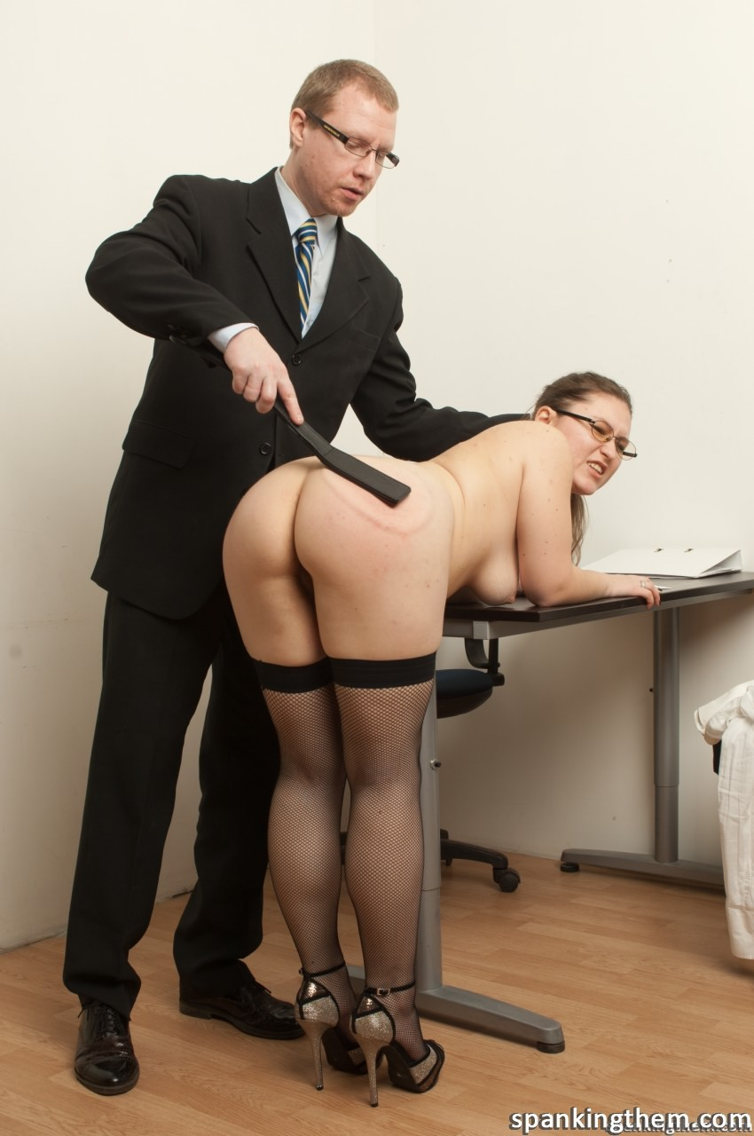 Spanked In The Office