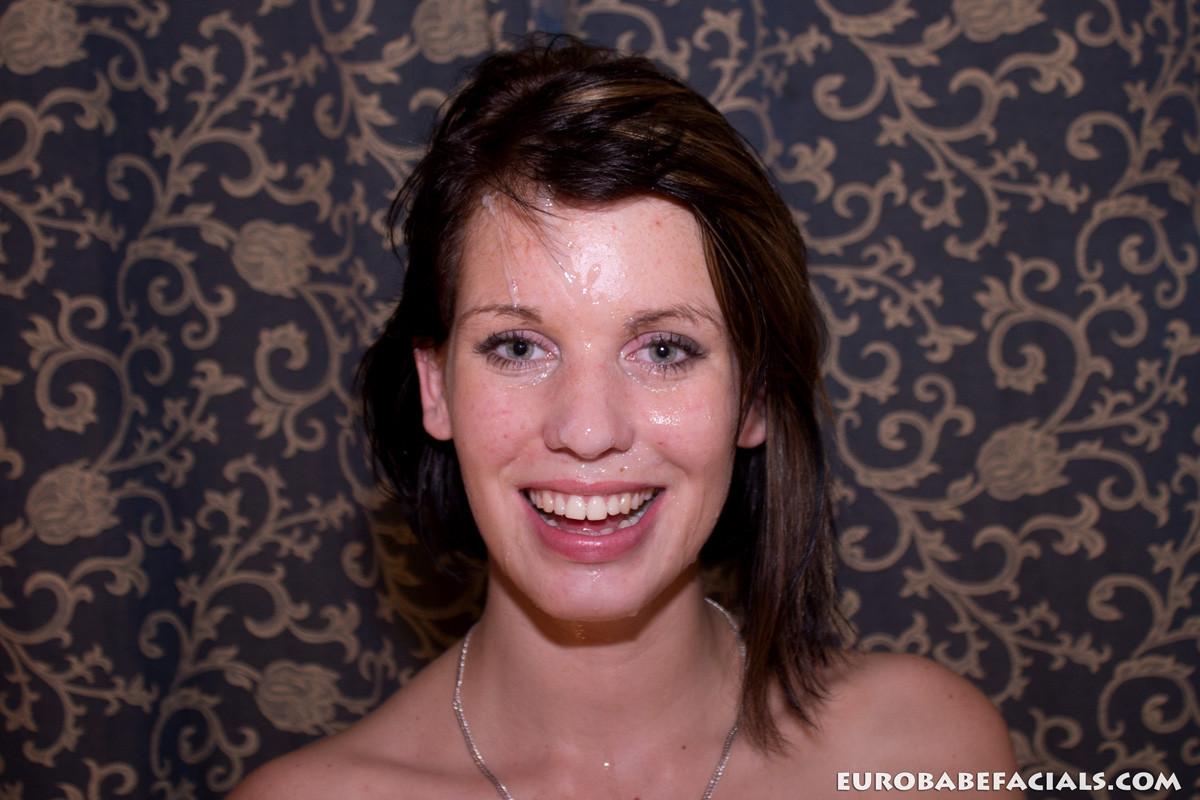 Сперма на лицо нарезка — photo 10