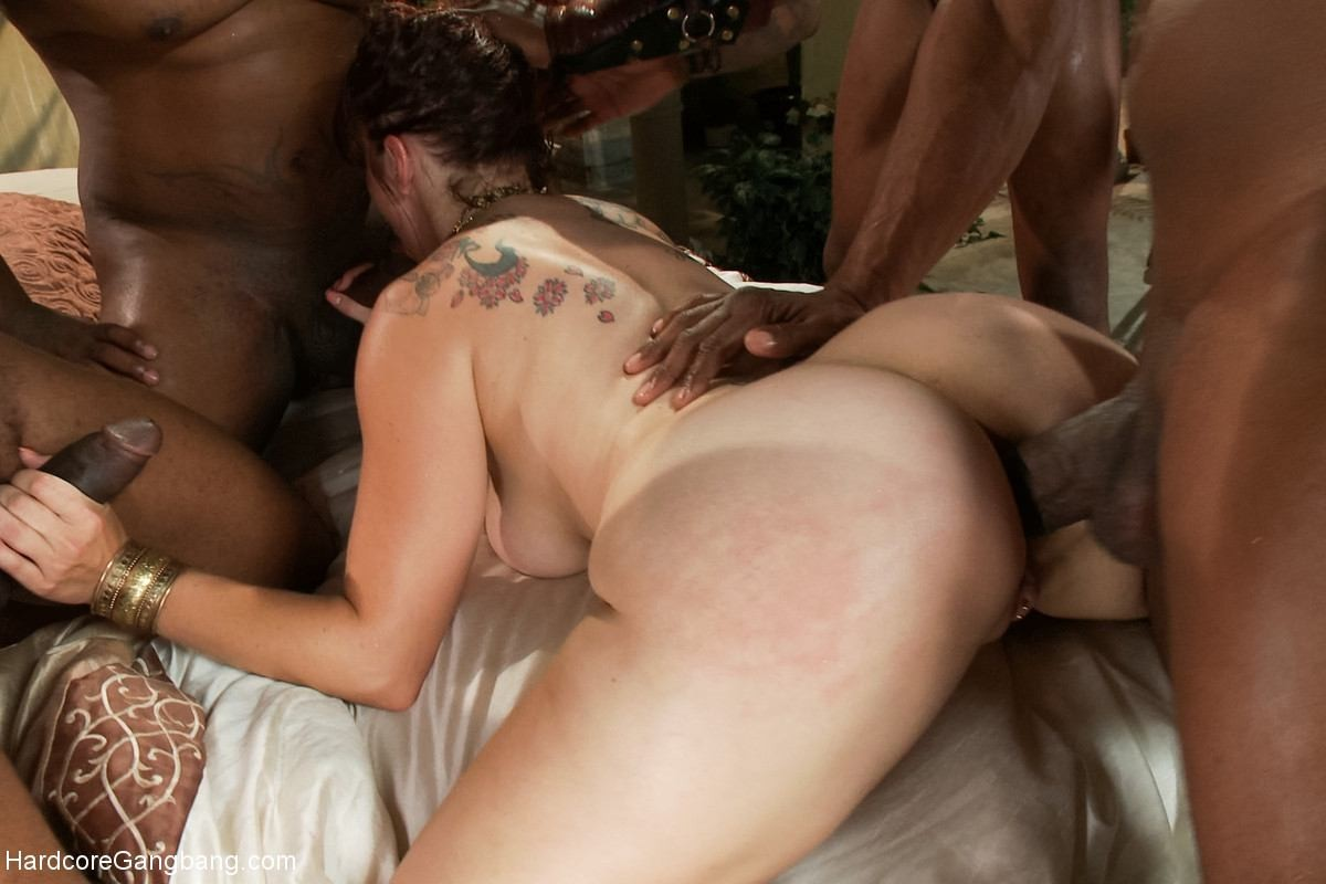 Interracial gang bang squad — 7