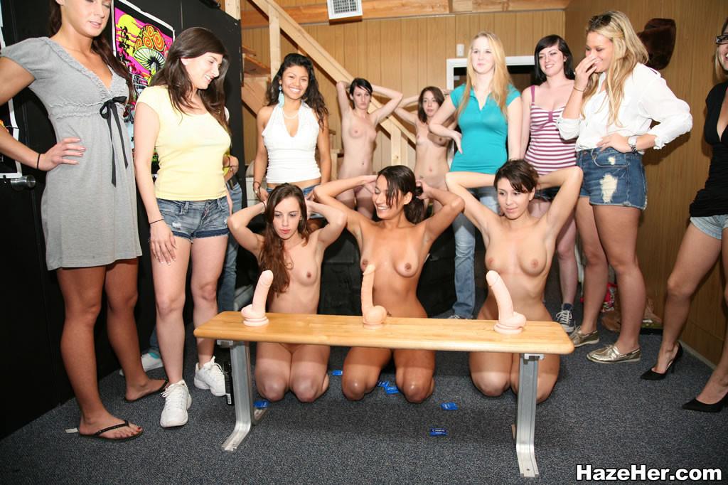 Посвящение в студенты колледжа порно