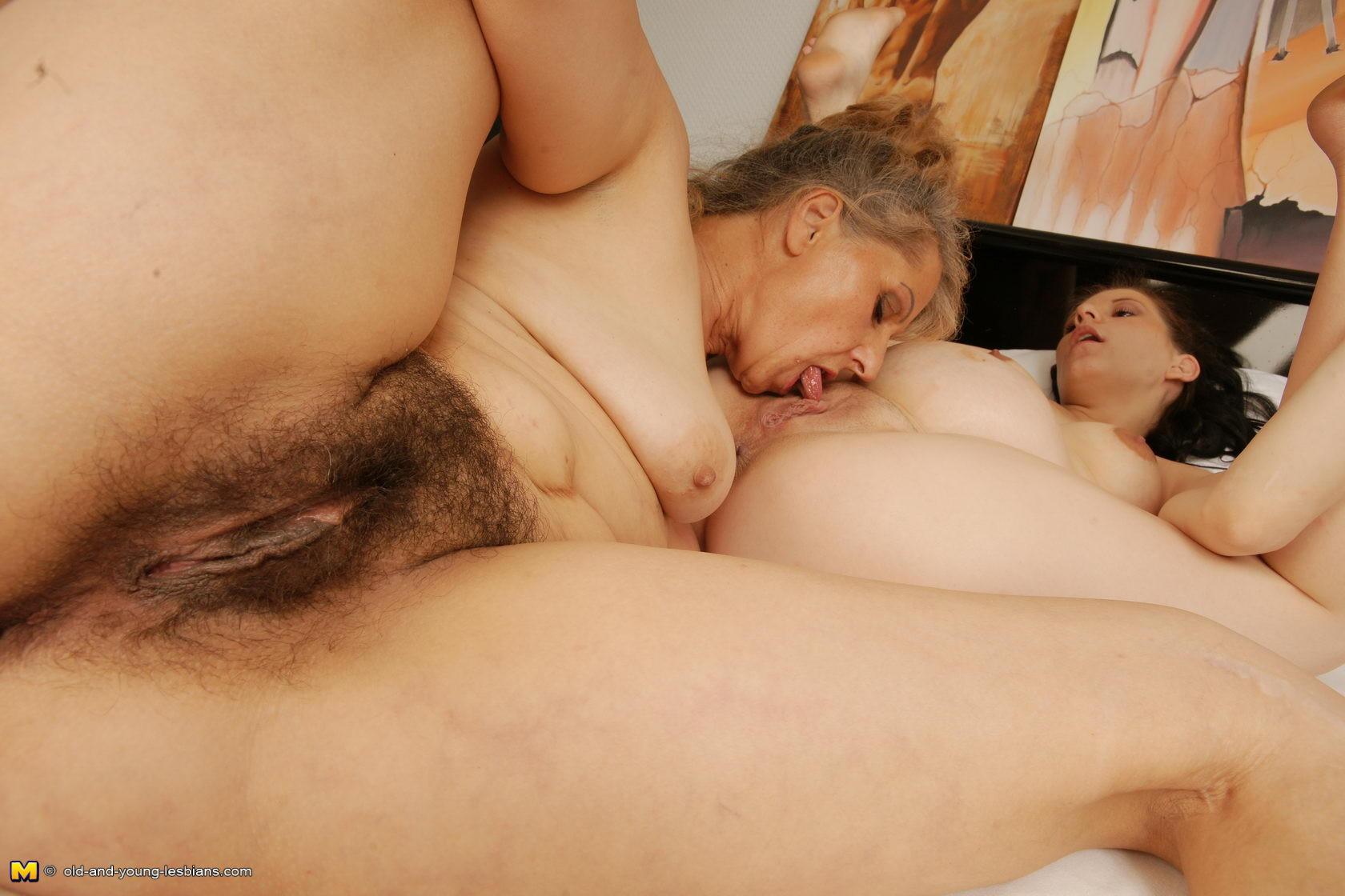 Pretty mature hairy lesbian — img 13