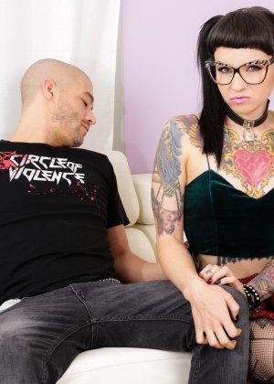 Секс с татуированной Никки