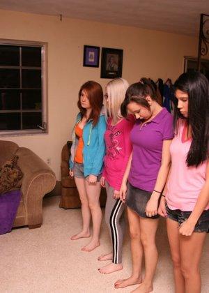 Развлечение студенток в женской общаге