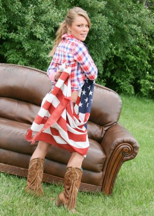 Американская патриотка
