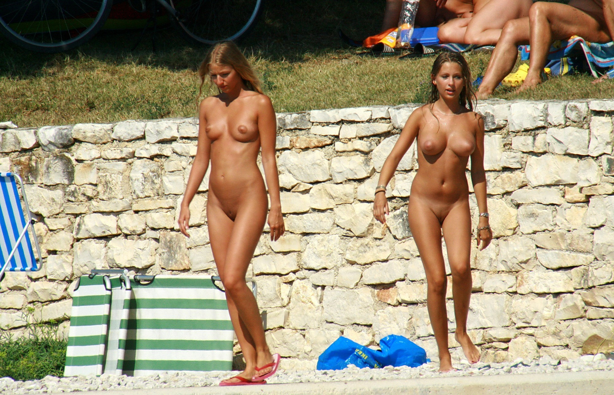 Topless nude camp — photo 8