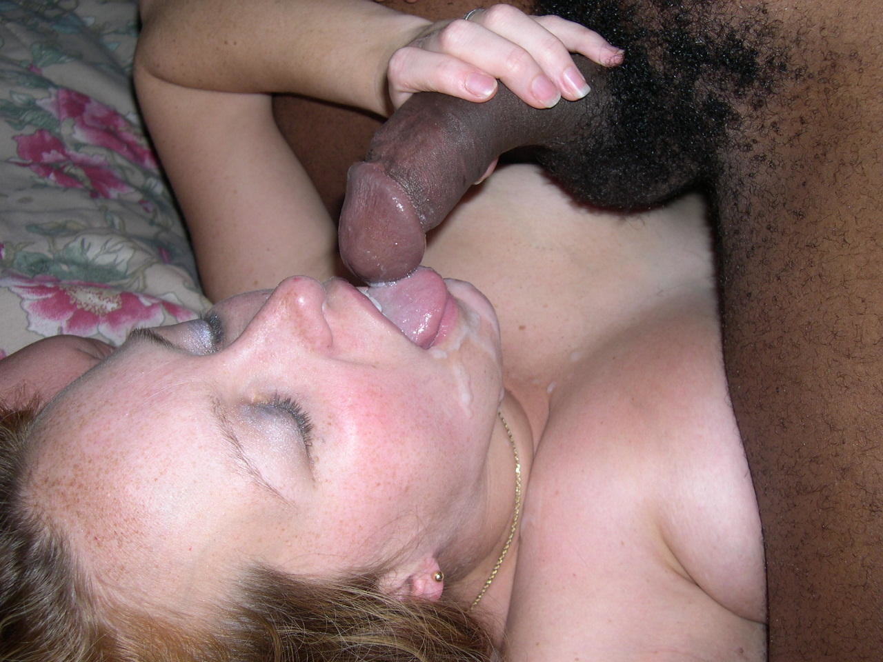 Wife eats black cum compilation vid 7