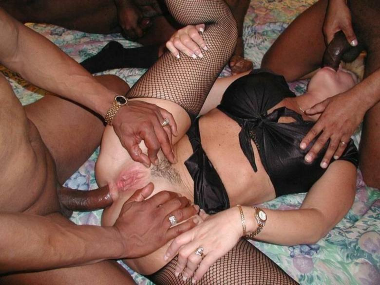 Slut Whore Wife Gangbang