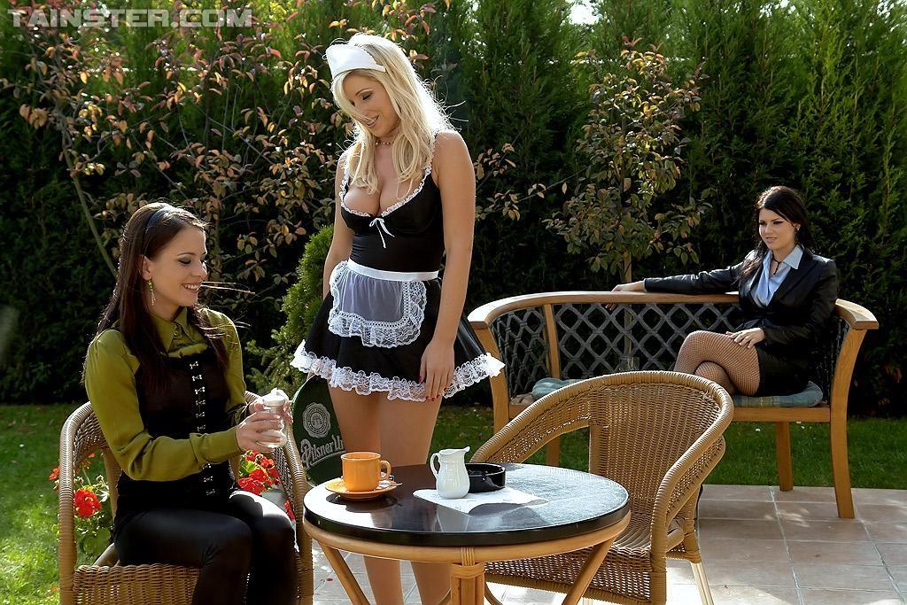 Хозяйка и служанка в хорошем качестве — photo 7