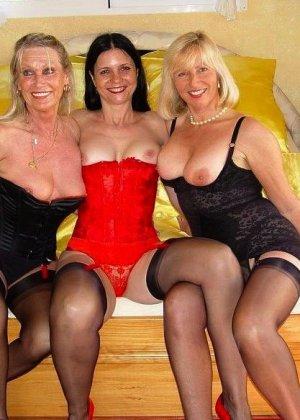 Три пожилые бляди ждут тебя