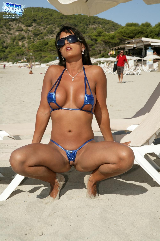 Mature Women In Micro Bikinis