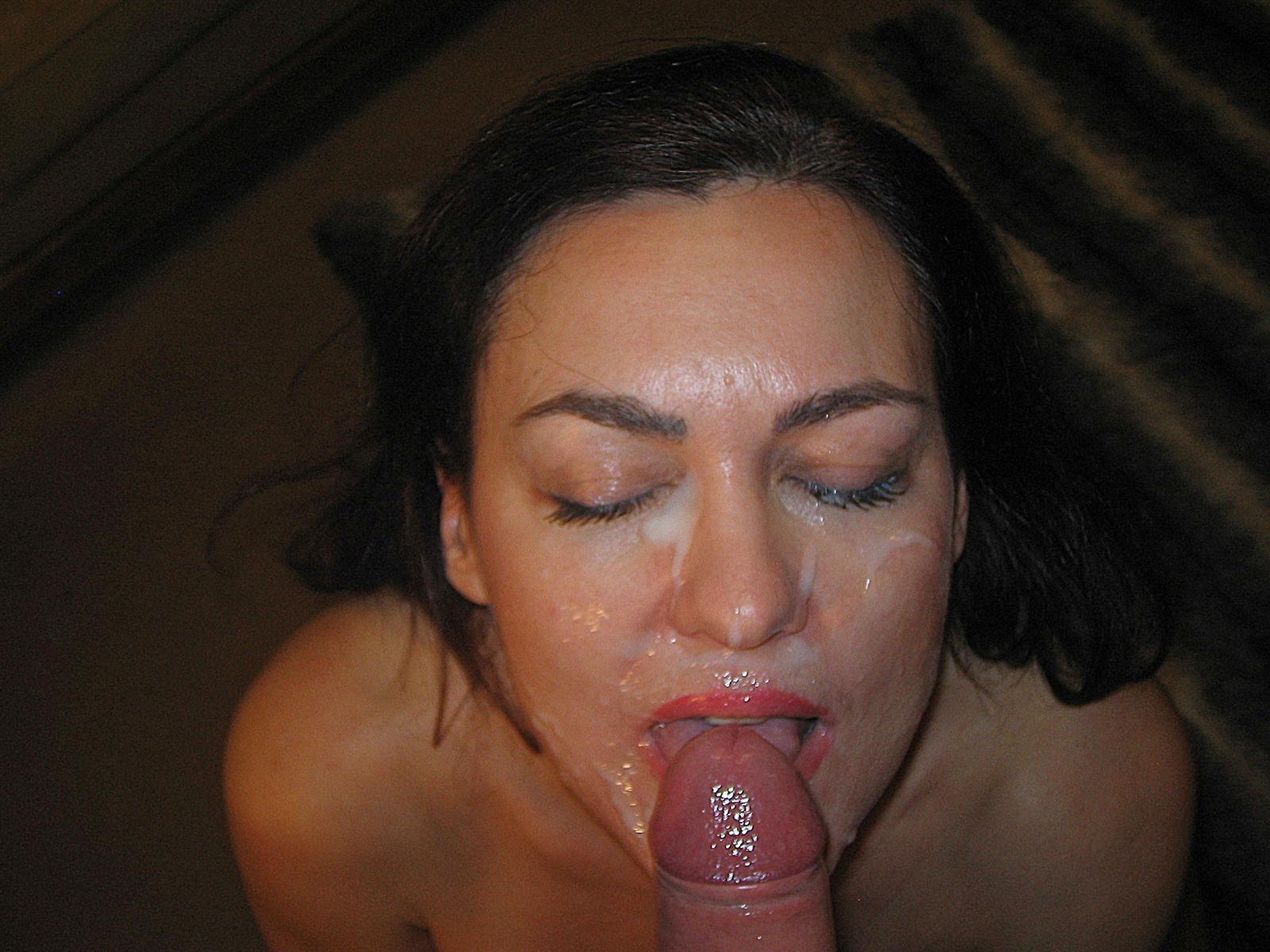 порнуха сперма на лицо подружке - 11