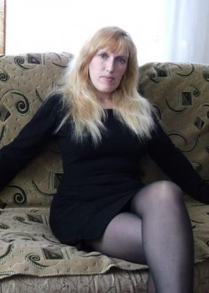 Белокурая жена