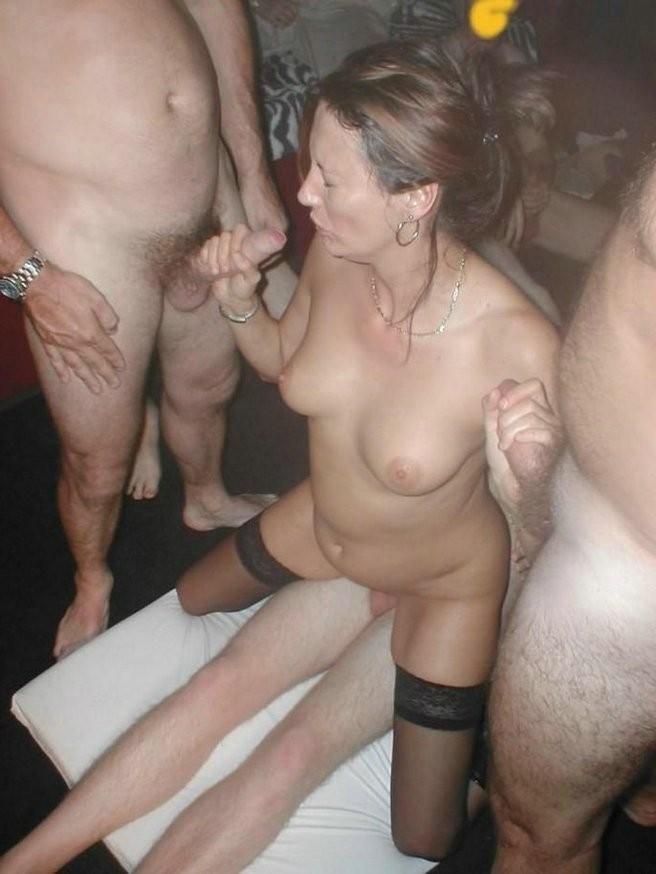 Drunk wife gang banged