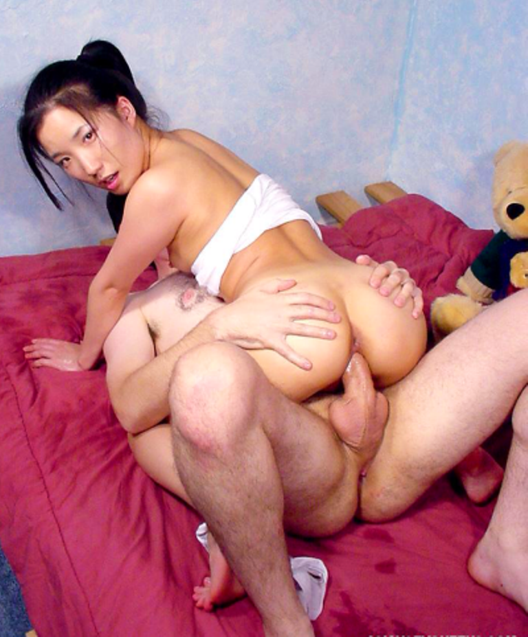 Asian guy fuck white teen — pic 9