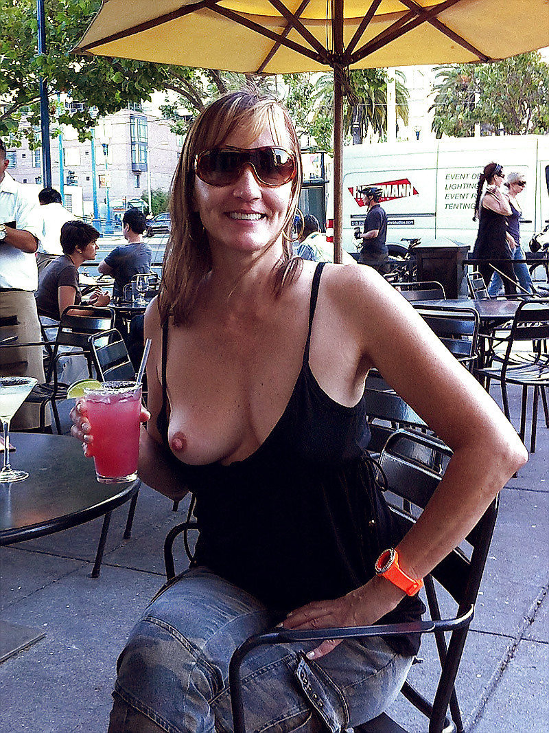 Wife nipple slips