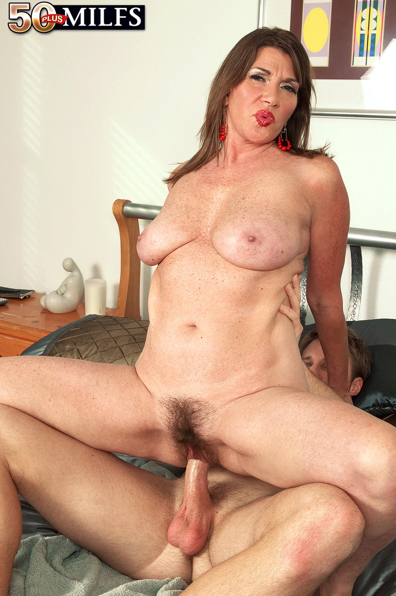 Hot mommy nancy rides cock 1