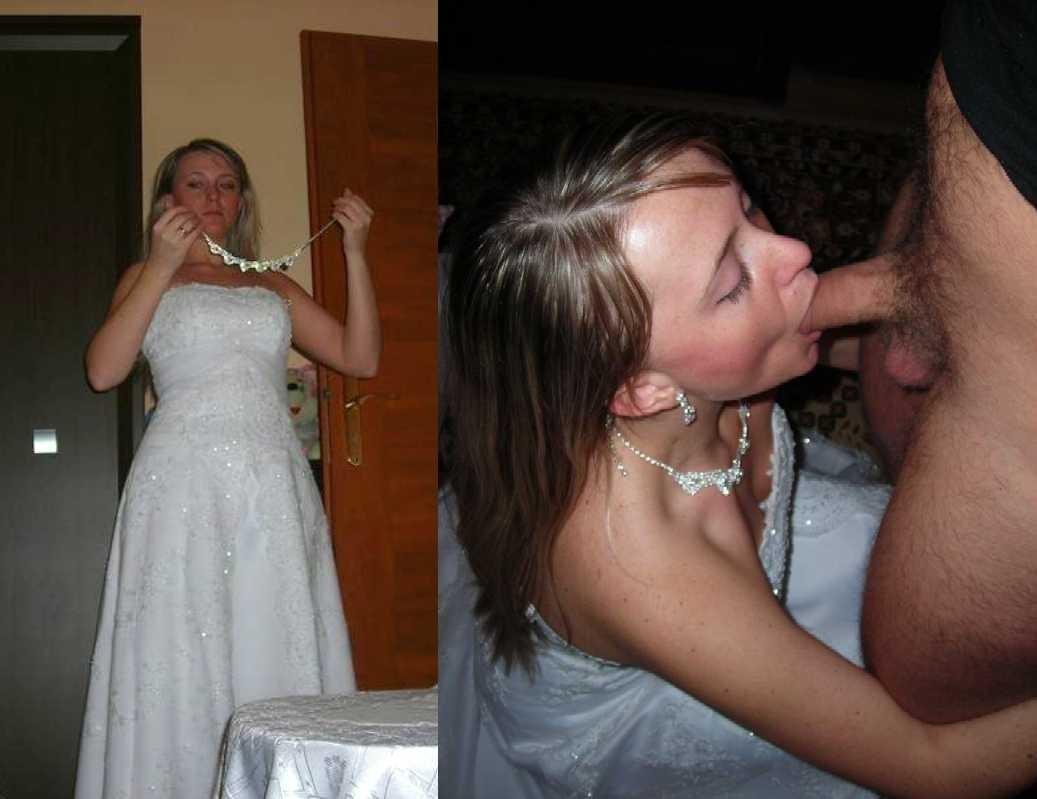 минет невесты на даче