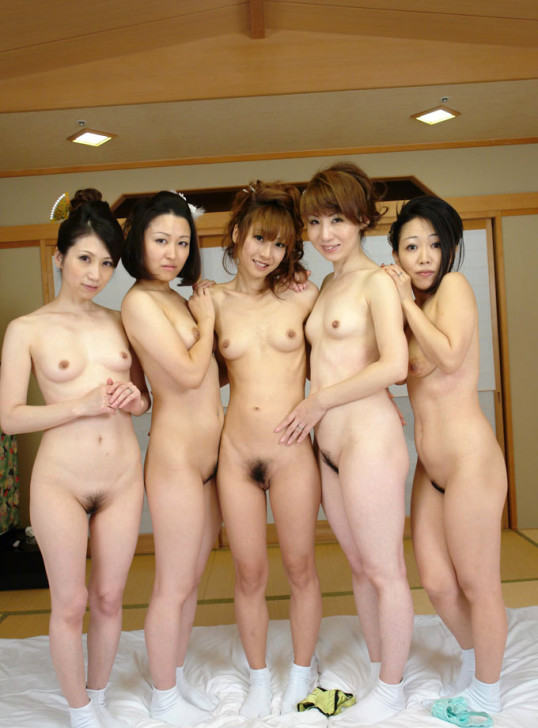 Group Of Nude Asian Teens