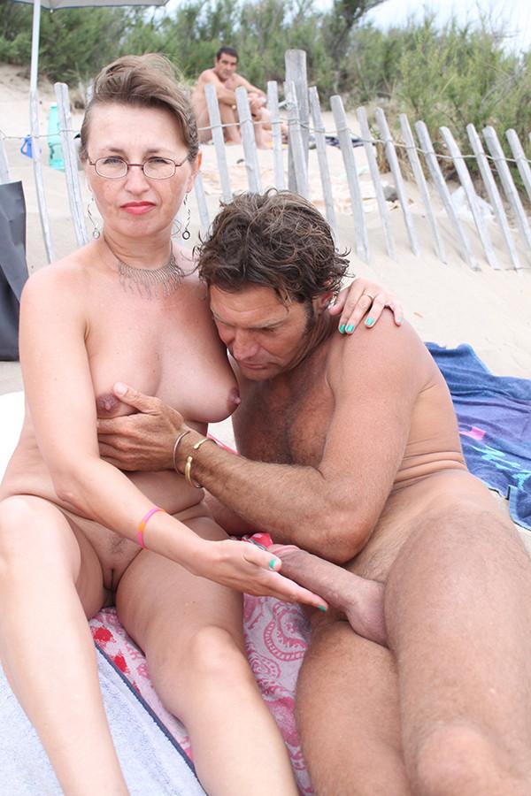 Horny nude family sex