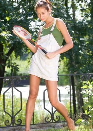 Теннисистка возбудилась прямо на игре