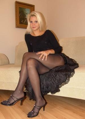 Красивые сексуальные блондинки - фото компиляция 10