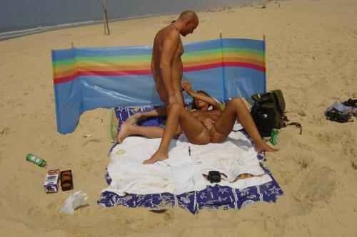 Секс на пляже - компиляция 3