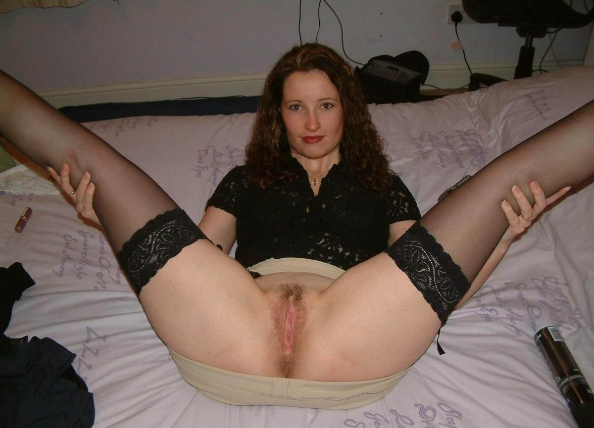Wives spreading legs nude — img 8