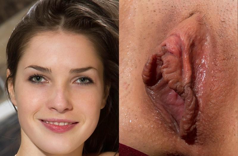 девушка моется огромные вульвы на лице после массажа
